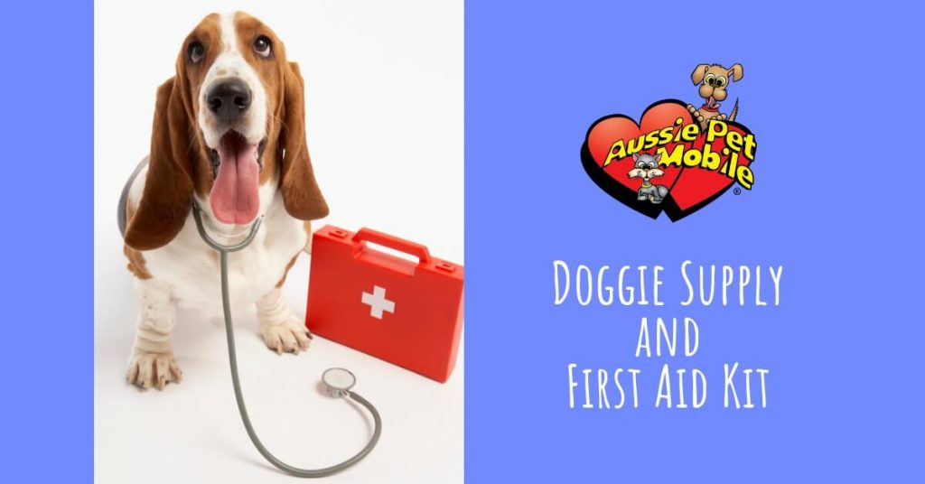 Doggie Supply and First Aid Kit